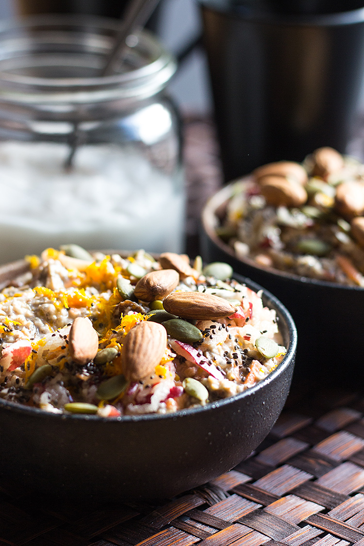 Nourishing carrot cake overnight oats quite good food forumfinder Gallery