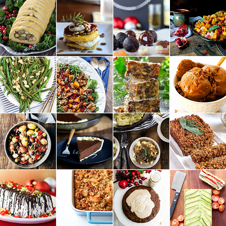 16 Amazing Vegan Christmas Salads, Sides, Mains And