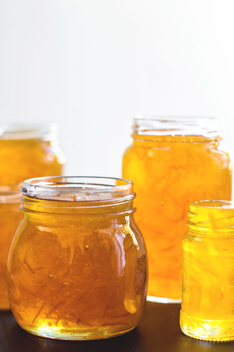 Chai spiced grapefruit marmalade (vegan and gluten free).