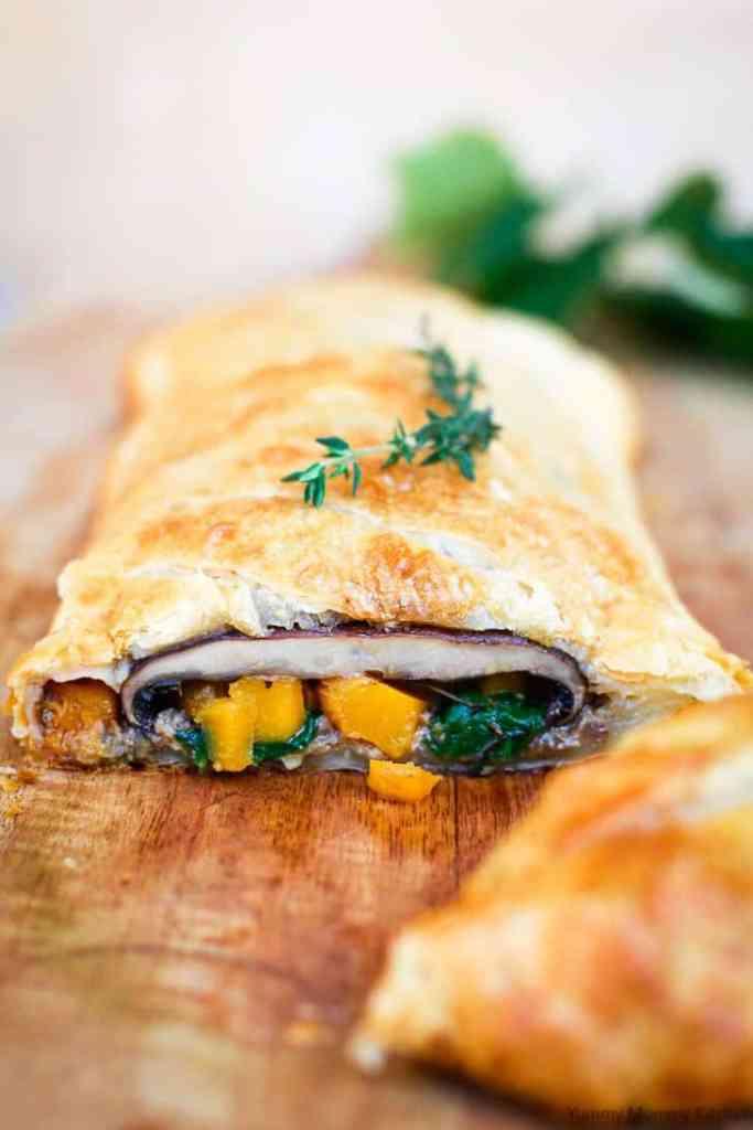 Vegetarian Wellington by Marina Delio, Yummy Mummy Kitchen.