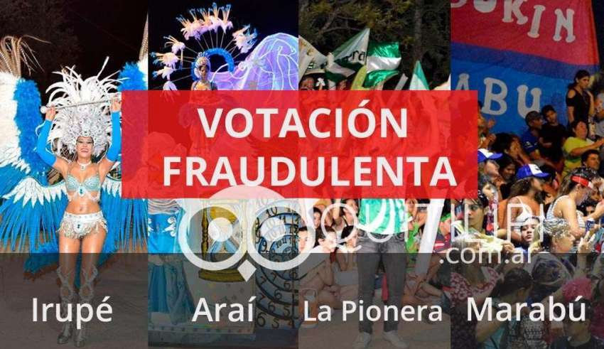 votacion fraudulenta