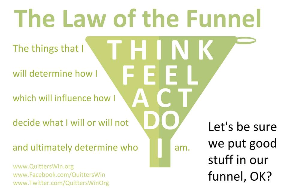 The Law of the Funnel: Think. Feel. Act. Do. I.