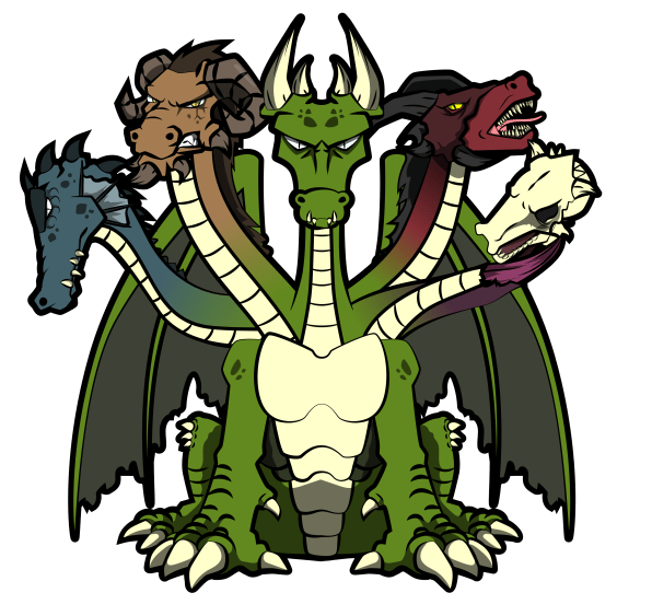 A depiction of BESOCHEMPS, the 5-headed dragon. This is a very helpful way to look at and better understand the complex relationships we often call addictions.