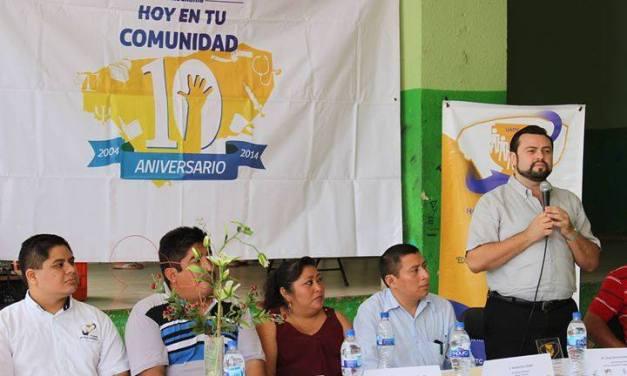 Hoy en Tu Comunidad festeja su 10° aniversario