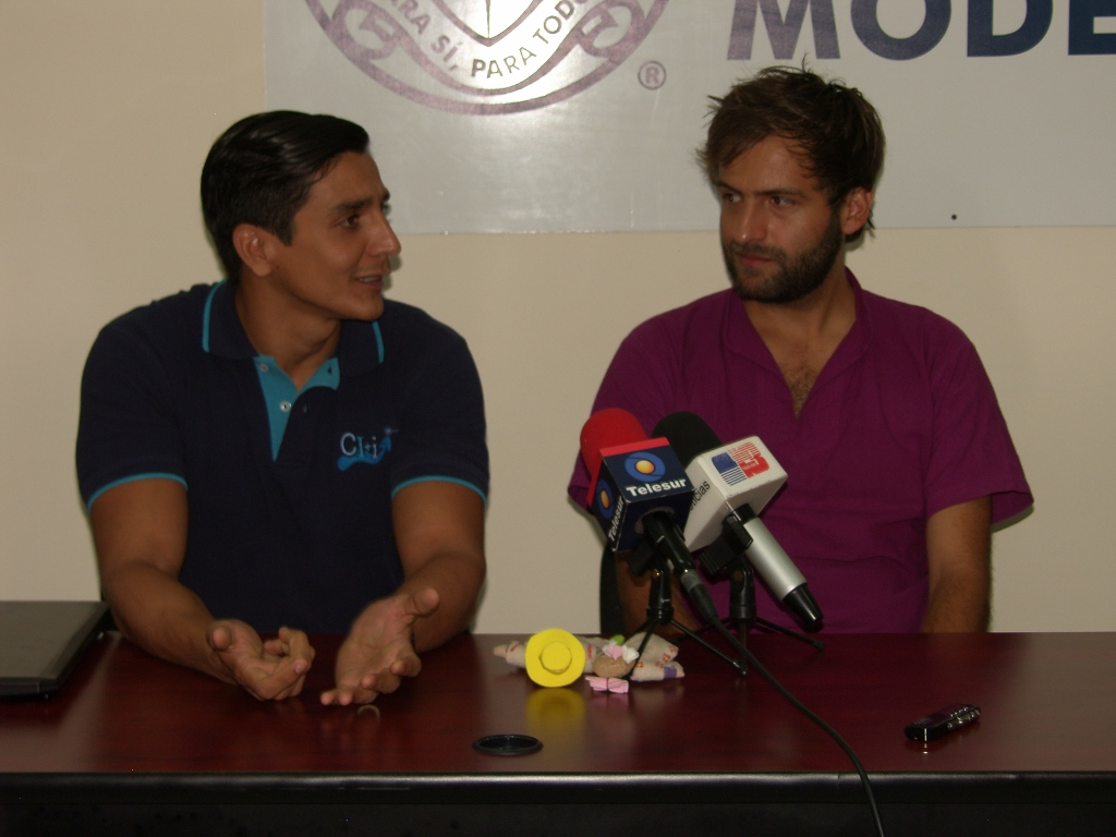Carlos Sauri Quintal y Benjamín Sánchez Lengeling