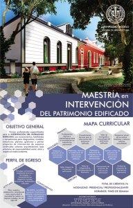 Maestría en Intervención del Patrimonio Edificado