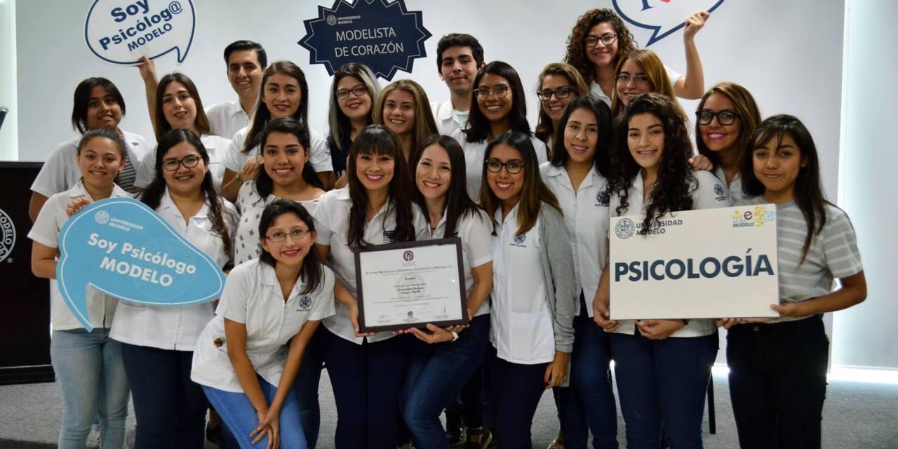 Licenciatura en Psicología de la Universidad Modelo, logra acreditación nacional por su calidad