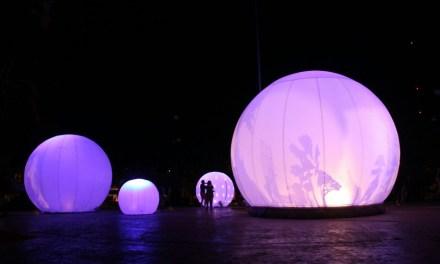 Mérida se ilumina con la presentación del Festival Internacional de las Luces