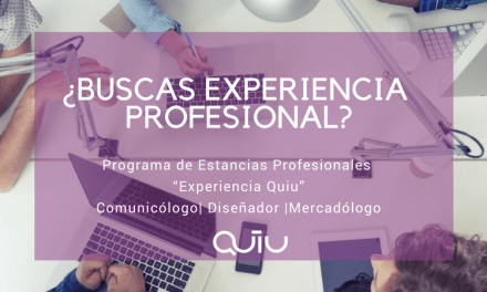 """Programa de Estancias Profesionales """"Experiencia Quiu"""""""