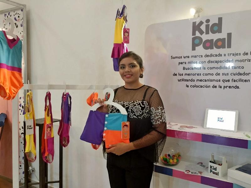KID PAAL. Marca que confecciona trajes de baño para niños con discapacidad motriz