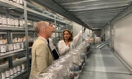 SIIES y CICY muestran a embajador de Nueva Zelanda desarrollo científico de Yucatán