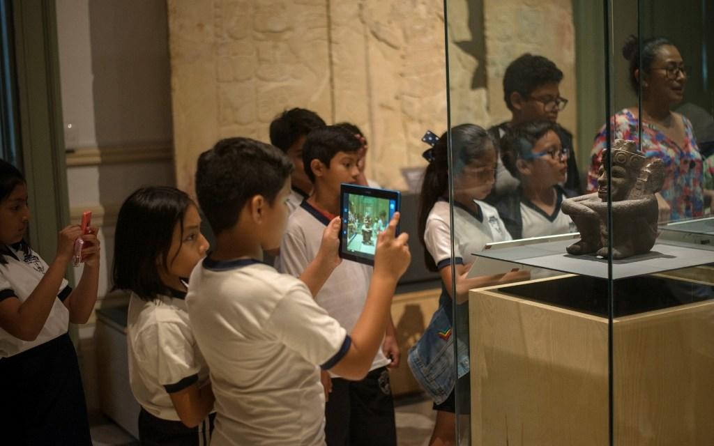 El patrimonio arqueológico al alcance de los niños en el Palacio Cantón