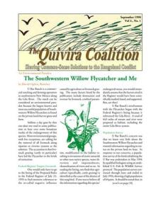 Quivira Newsletter #5