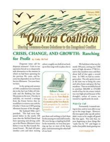 Quivira Newsletter #10