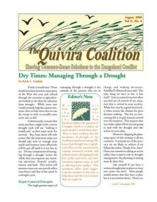 Quivira Newsletter #12