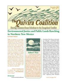 Quivira Newsletter #14