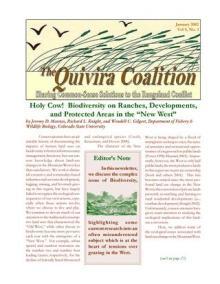 Quivira Newsletter #17