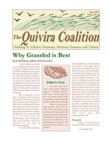 Quivira Newsletter #21