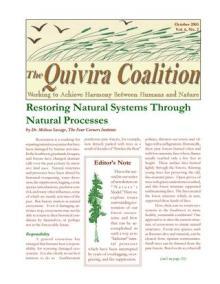 Quivira Newsletter #22