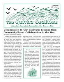 Quivira Newsletter #26