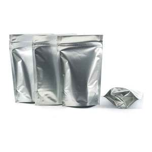 Quiware Stand Up Zip Lock Pure Aluminium Pouch