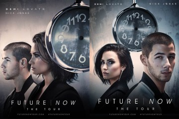 Demi Lovato & Nick Jonas Future Now Tour by Randall Slavin
