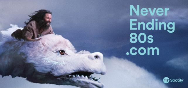 Shot at Quixote: Spotify – Never Ending Story Commercial