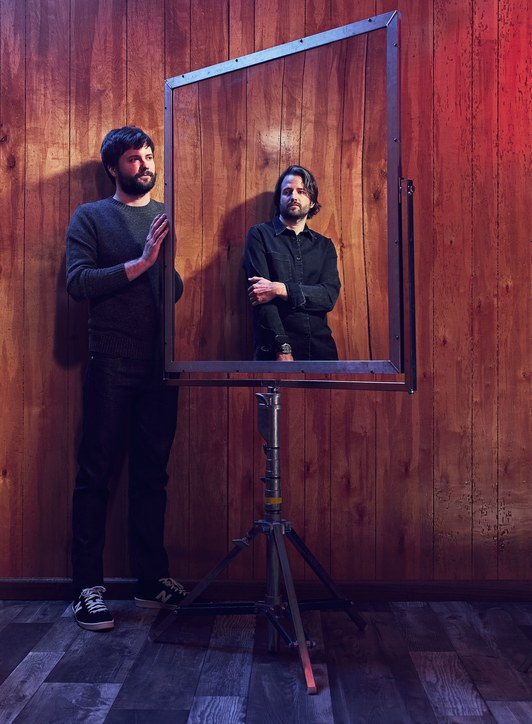The Duffer Brothers by Joe Pugliese for Wired