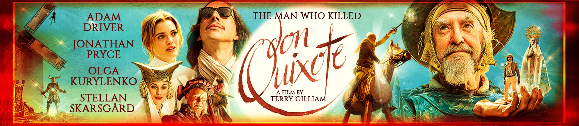 Image result for the man who killed don quixote banner