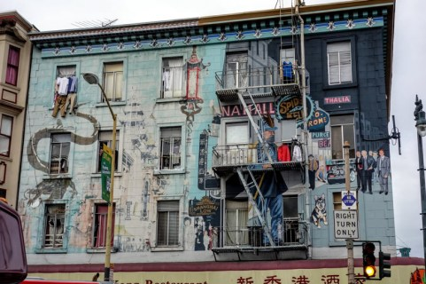 Little Italy/Chinatown Border