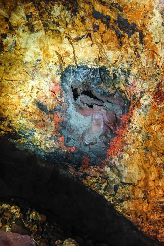 Inside the Volcano!