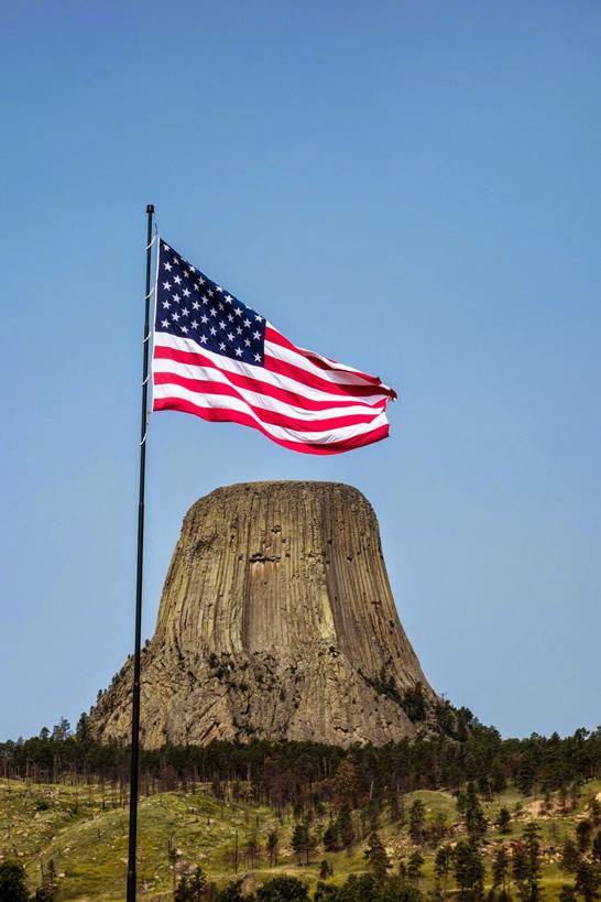Patriotic Devil's Tower