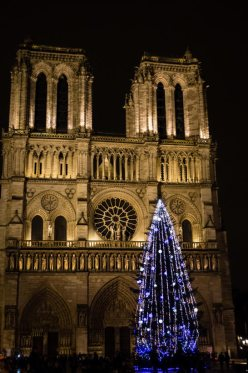 Notre Dame at Christmas