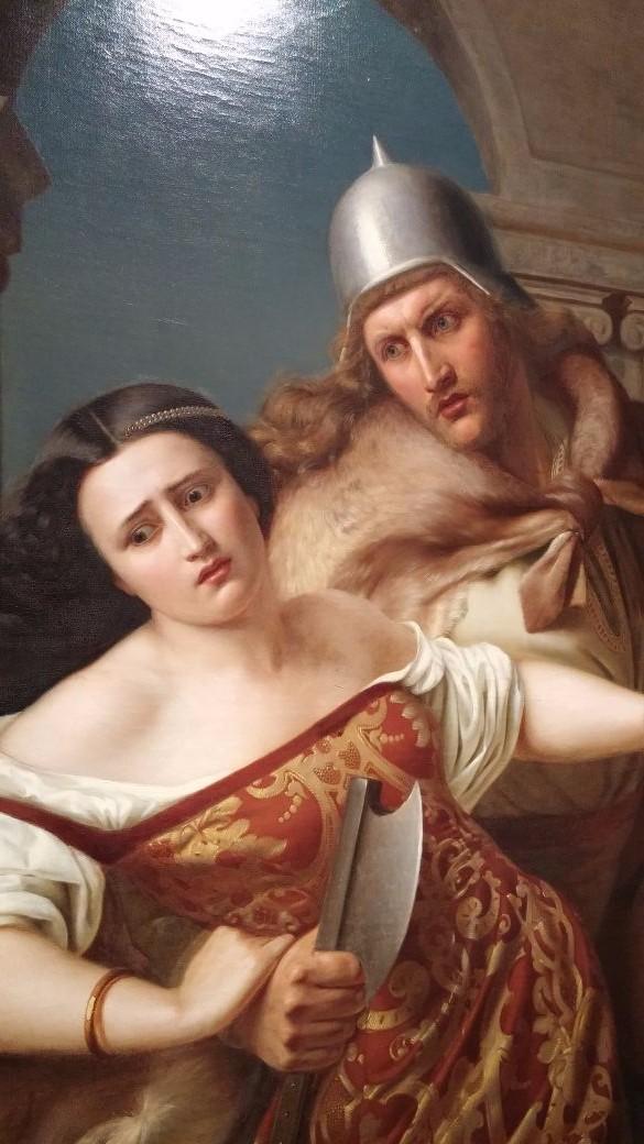 Mediterranean Woman and Viking