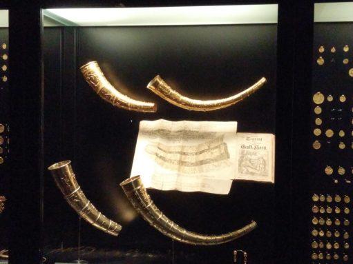 Viking Horns at National Museum