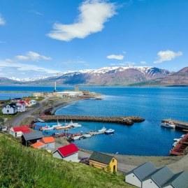 Hjalteyri village