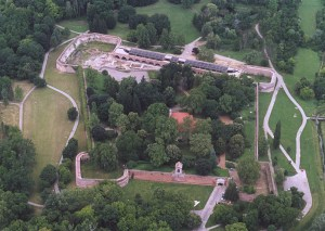 Aerial View of Castle at Szigetvar