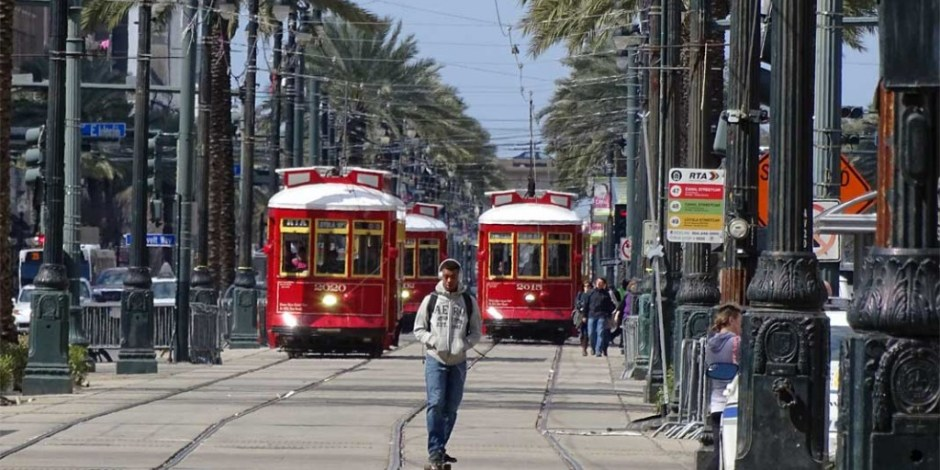 New Orleans Street Cars - Photo by Xzelenz Media