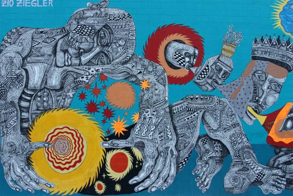 Zio Ziegler - Street Art Las Vegas - Copyright: Xzelenz Media