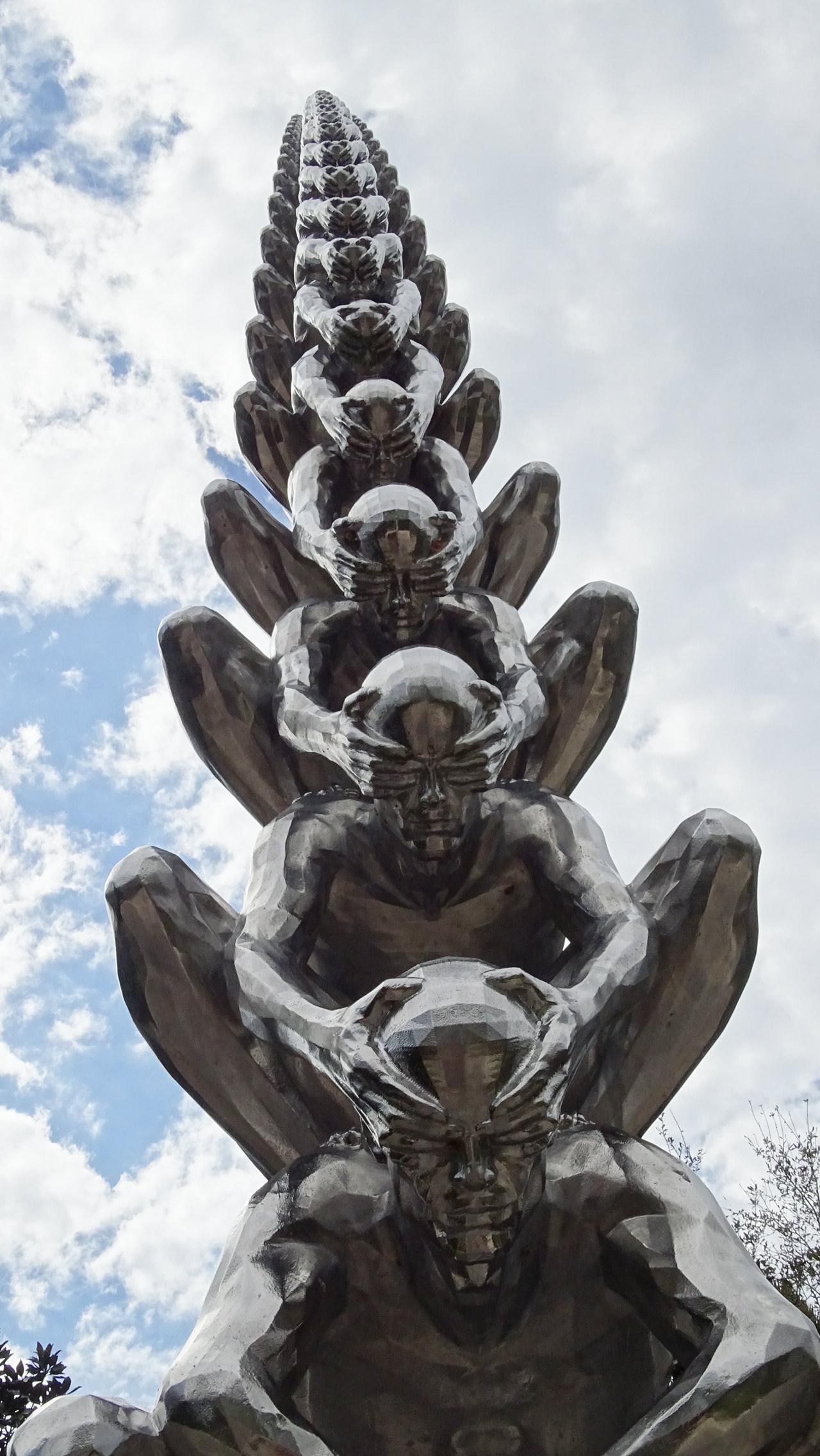 Karma by Do-Ho Suh (Korea) - Besthoff Sculpture Garden