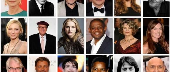 Oscar Winners - Movie Star Collage