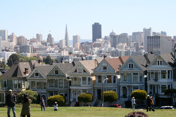 Quizagogo - Famous Landmarks in USA - Painted Ladies