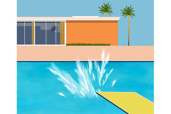 Art quiz - A Bigger Splash