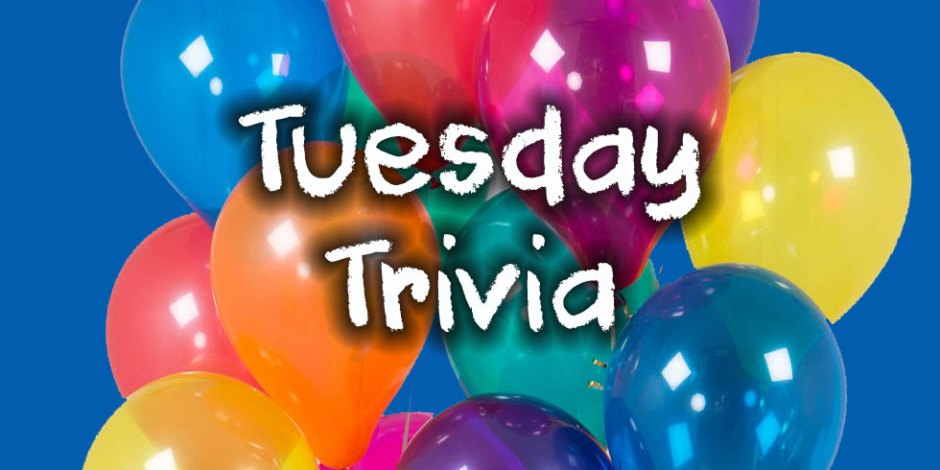 Tuesday Trivia at Quiz-a-go-go