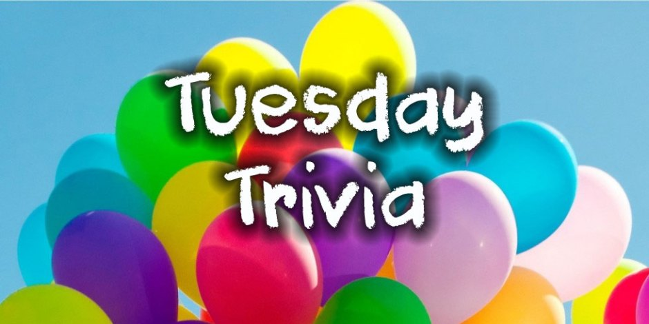 Tuesday Trivia Quiz at Quiz-A-Go-Go