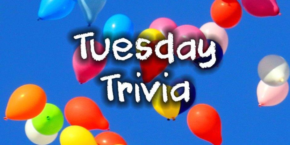 Tuesday Trivia 2020-03-03