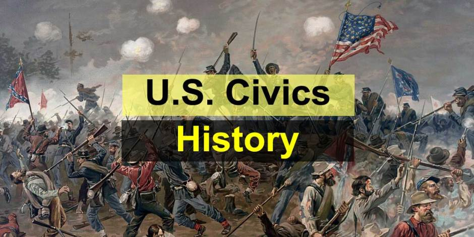 United States Civics Quiz - History