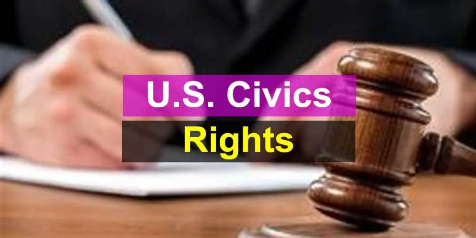 U.S. Civics Test - Rights and Responsibilities