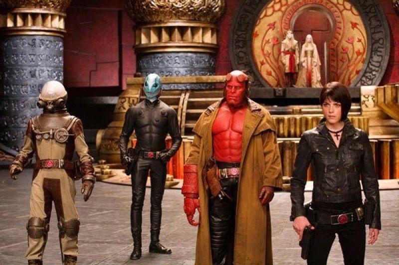 foto da cena do filme Hellboy II
