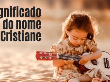 foto escrita significado do nome cristiane
